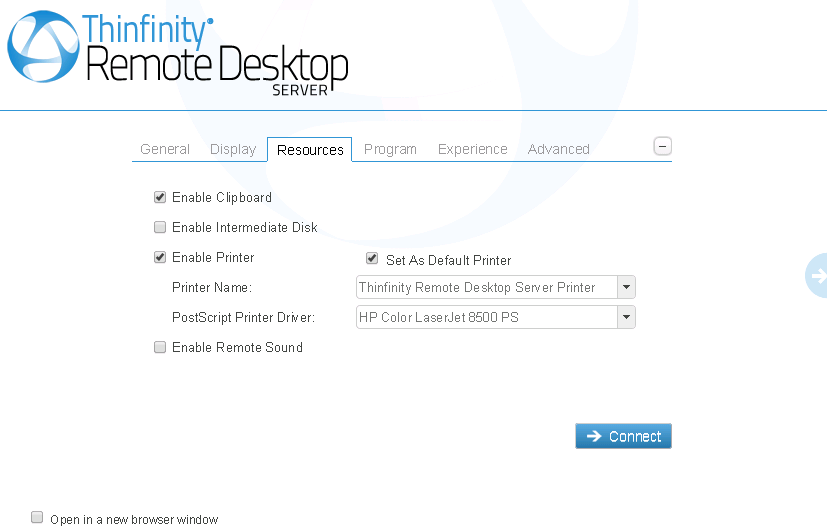 Thinfinity® Remote Desktop Server Administrator's Guide